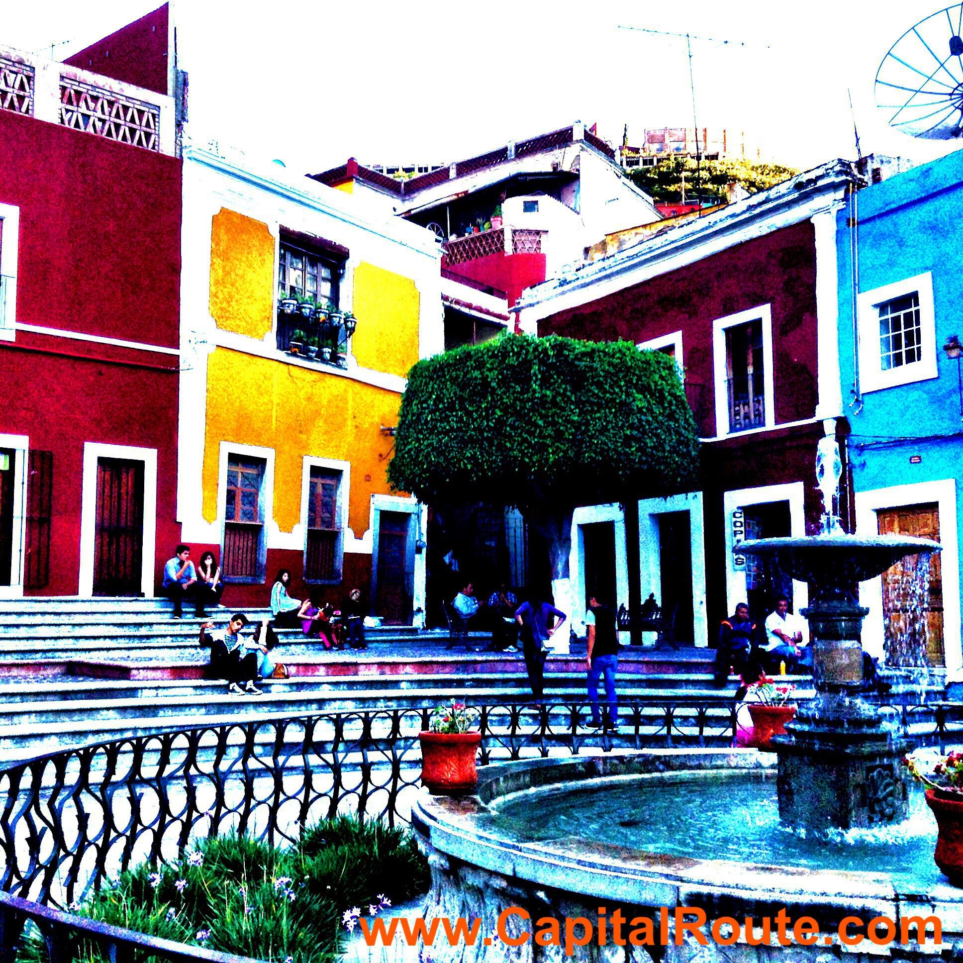 Plazuela de los Angeles Guanajuato Gto. Mex. www.capitalroute.com
